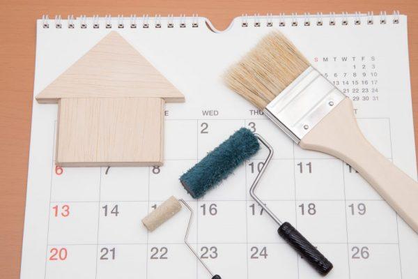 塗装にかかる期間はどれくらい?塗装工事中の生活で気をつるポイントサムネイル